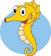 Sea Life clipart seahorse #14