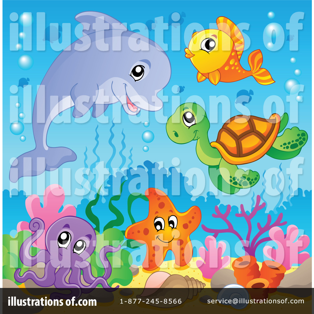 Marine Life clipart sealife Sea #1096922 Royalty Illustration Clipart