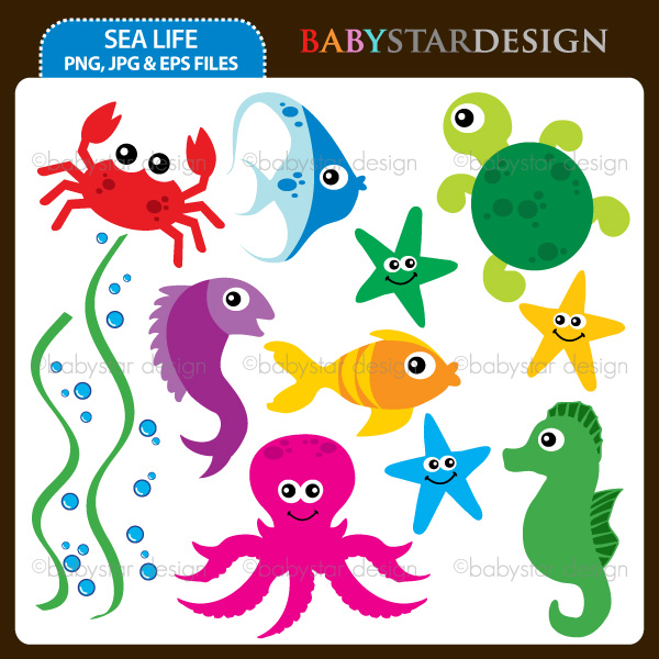 Marine Life clipart sealife Sea Download Sea Life Life