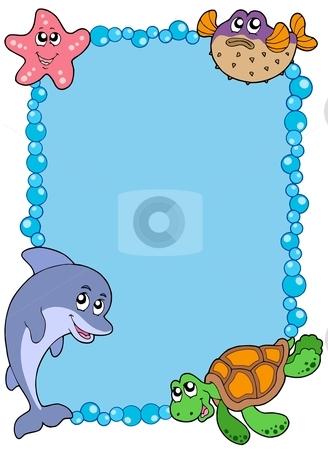 Sea clipart border #10