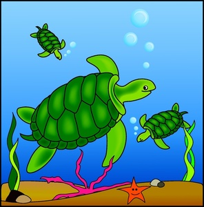 Marine Life clipart turtle swimming The posts Zoo: 'turtle' Turtle