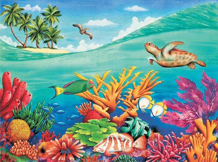 Marine Life clipart under sea Images The Life Marine Under