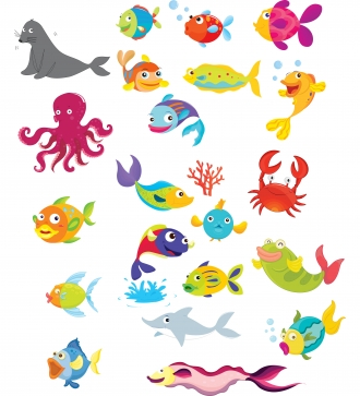 Marine clipart ocean animal #15