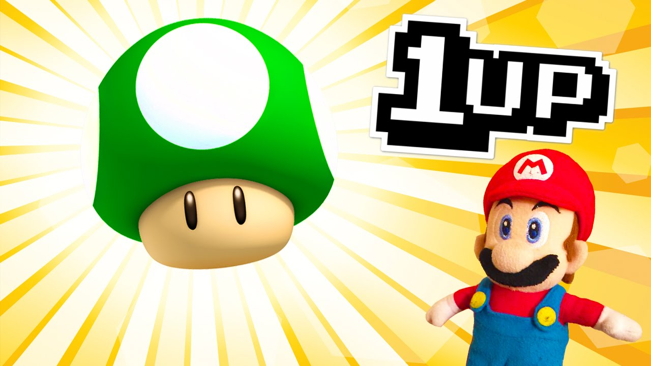 Mario clipart 1up SuperMarioLogan by Wikia 1UP! The