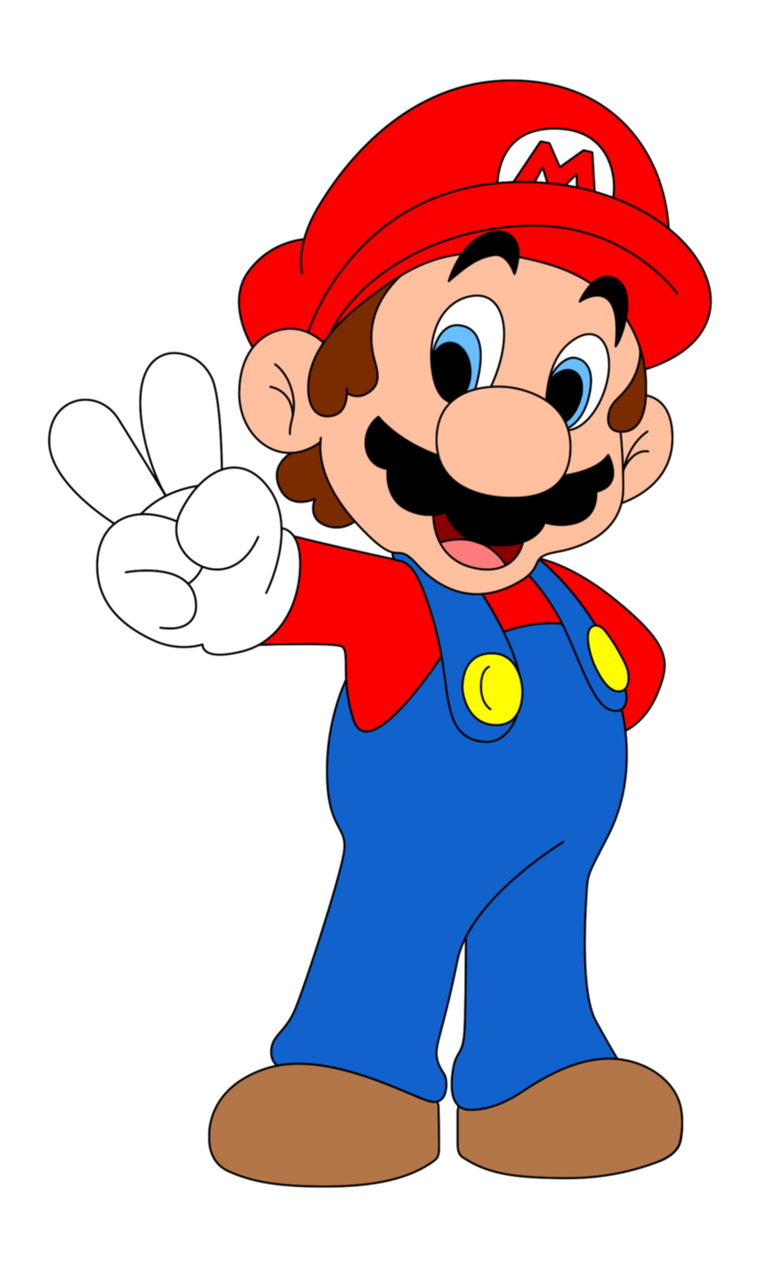 Superman clipart supper Mario Clip Free To Clipart