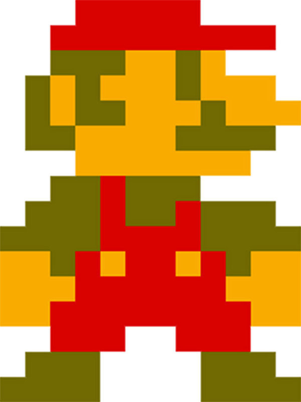 8 Bit clipart super mario bro Much 1985 Video How Your
