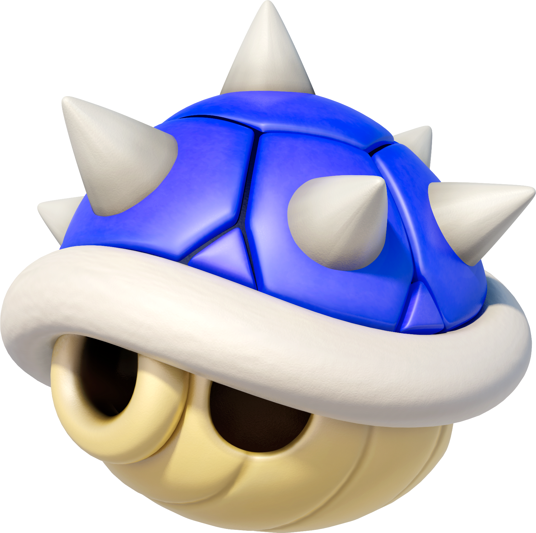 Mario clipart blue shell Shell the Spiny Dodging by