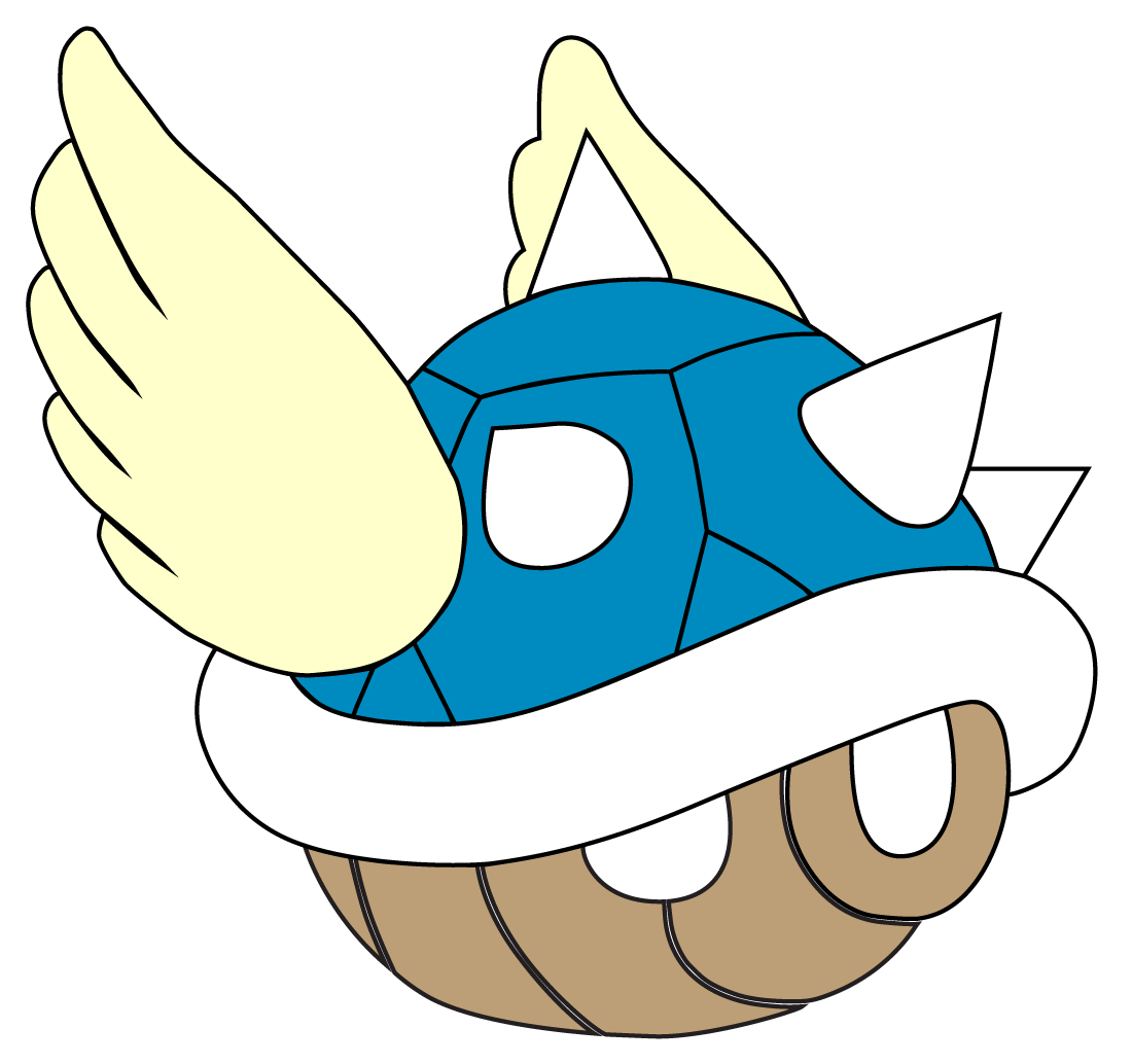 Mario clipart blue shell Blue by Shell ChupaCabraThing Blue