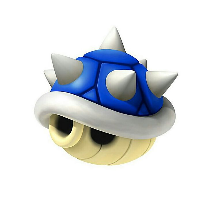 Mario clipart blue shell Mario 7 images Pinterest Art