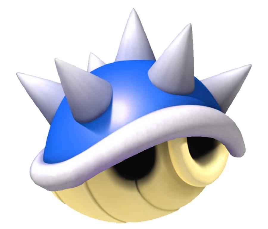 Mario clipart blue shell Item 8 List  Kart