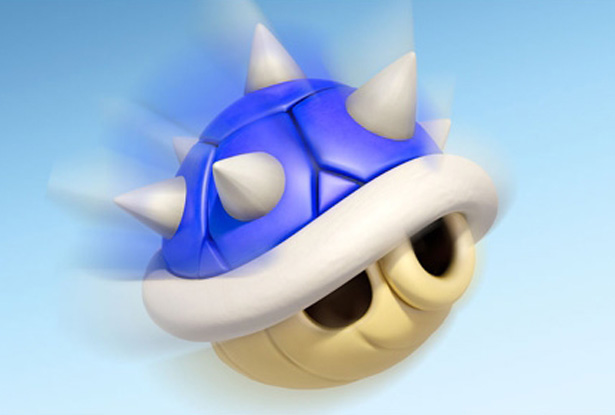 Mario clipart blue shell Blue Bogost shell The blue