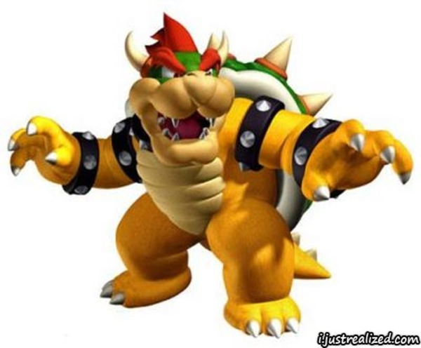 Mario clipart bowser Free  Clker vector Images