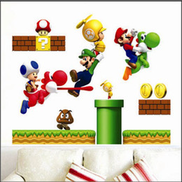 Classical clipart mario Removable Mario Classic Wall game