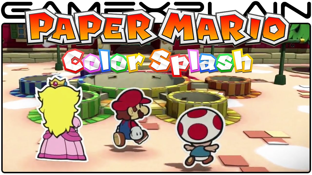 Cover clipart paper mario Quality) Mario:  Direct Trailer