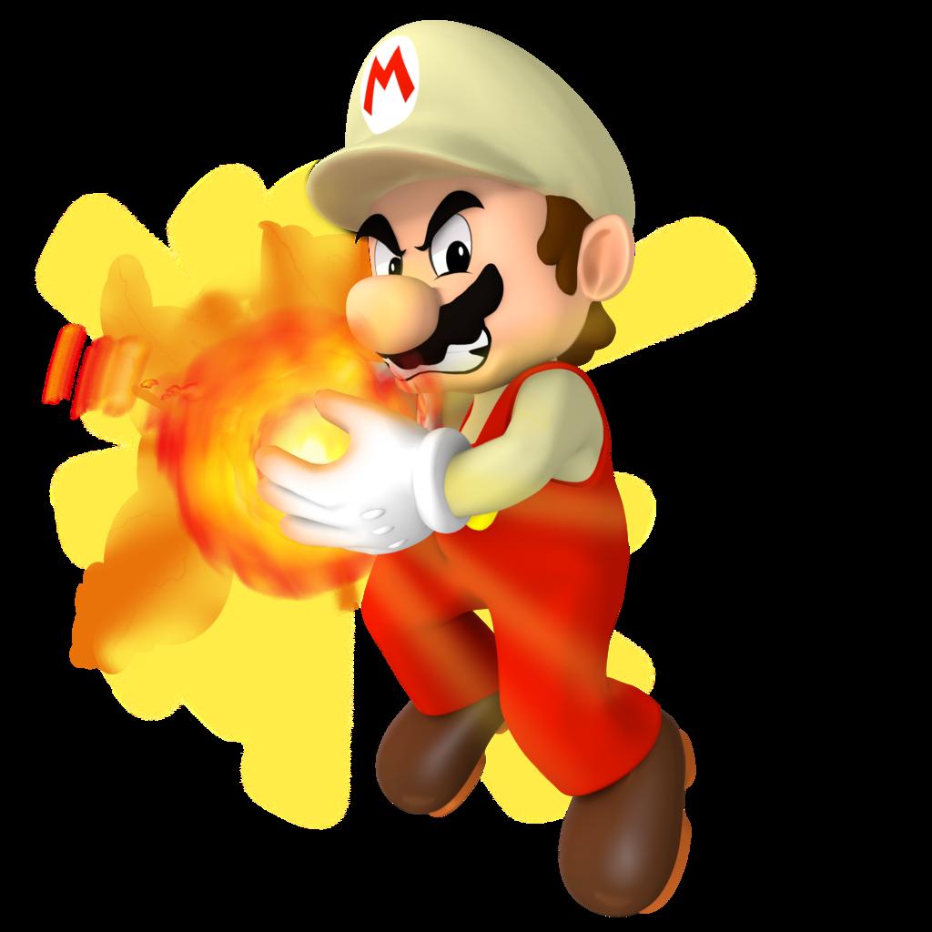 Mario clipart fire SMBZ Fire on Nibroc Nibroc