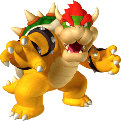 Mario clipart fire Gold Mario StickPNG PNG Bowser