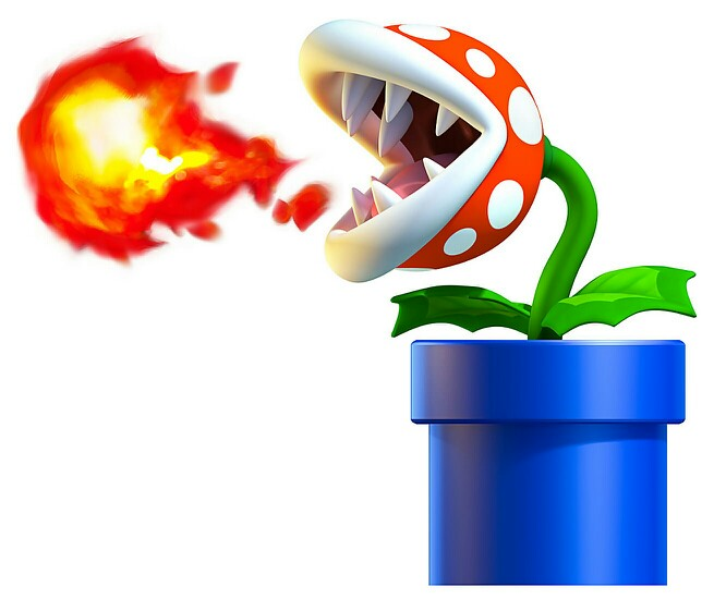 Mario clipart fire Trap #Characters Fire and #Venus