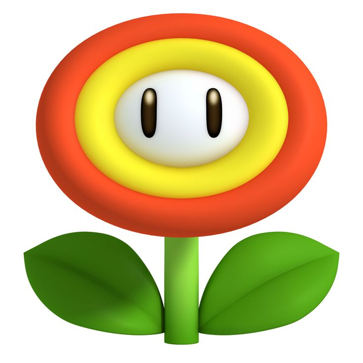 Mario clipart fire Clip Art Mario clipart flower