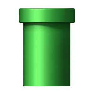 Mario clipart green pipe How Looks 4) Big is
