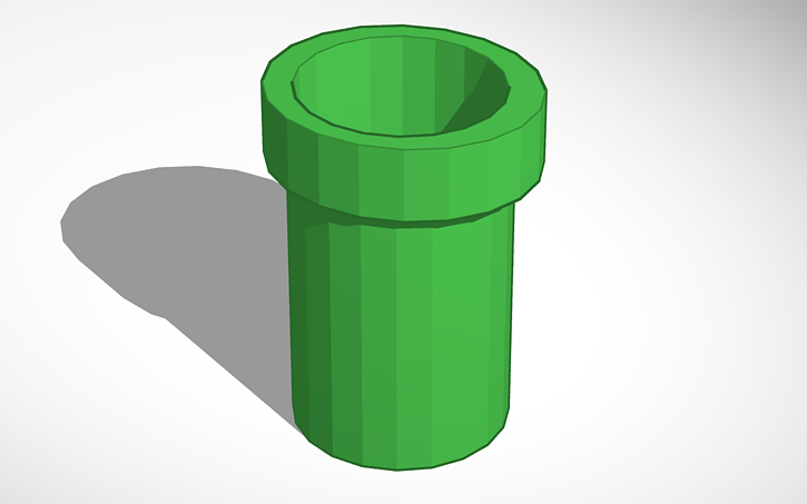 Mario clipart green pipe 3D View Mario Pipe 3D