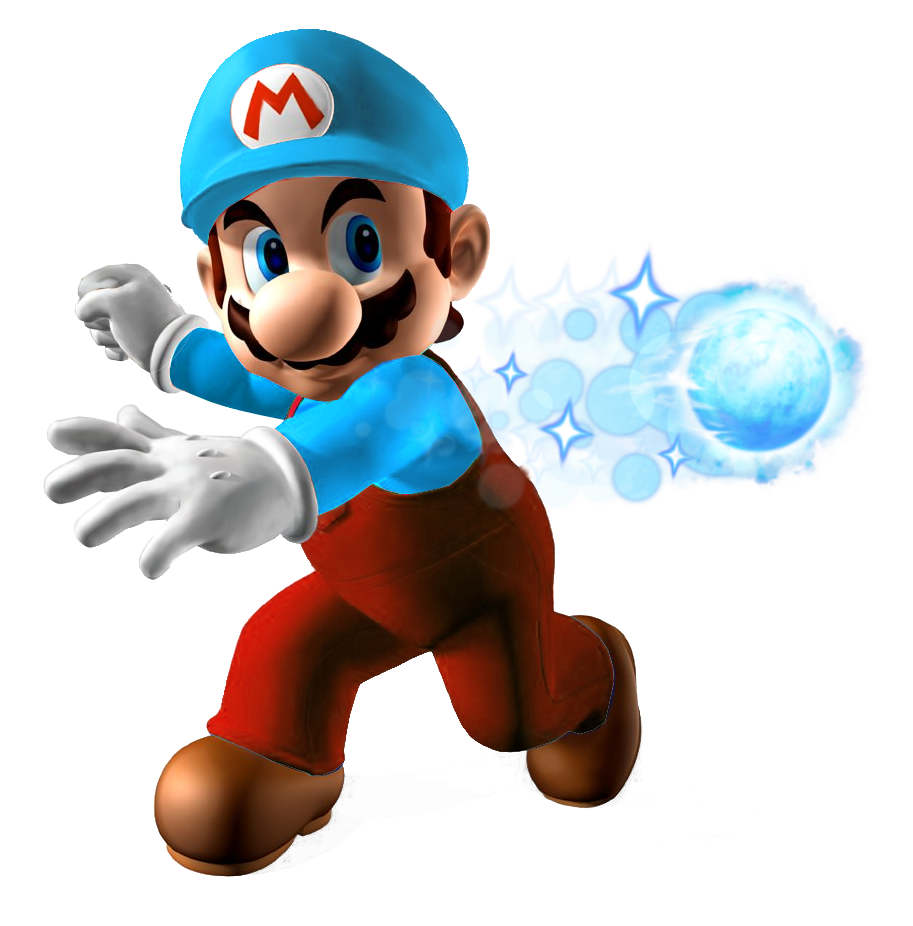Mario clipart ice power IceMarioSME png Image Wiki FANDOM