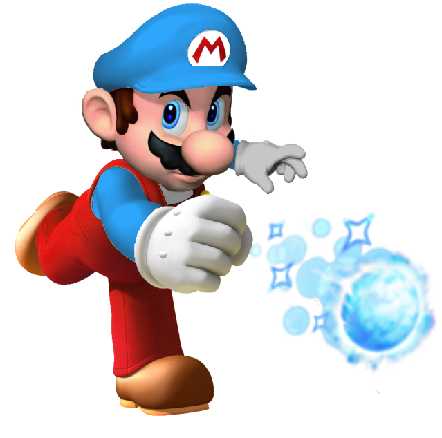 Mario clipart ice power Image Mario Ice FANDOM