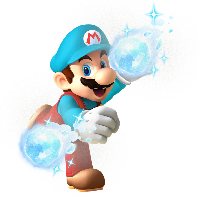 Mario clipart ice power Ice Mario Power Cliparts Un