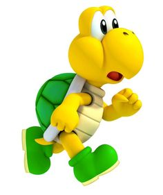 Mario clipart kuppa Embutida 500×750 TROOPA KOOPA Imagem