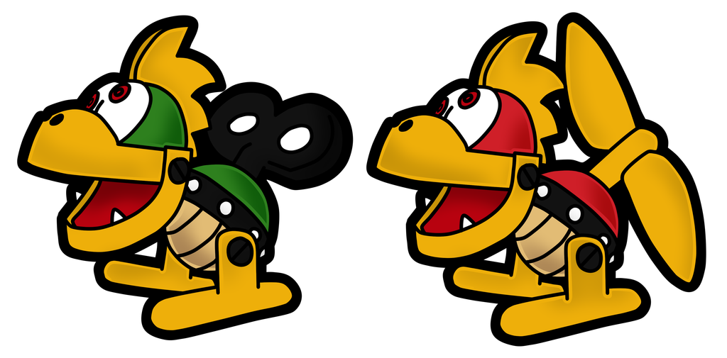 Mario clipart kuppa Mechakoopa mechakoopa 64 on DeviantArt