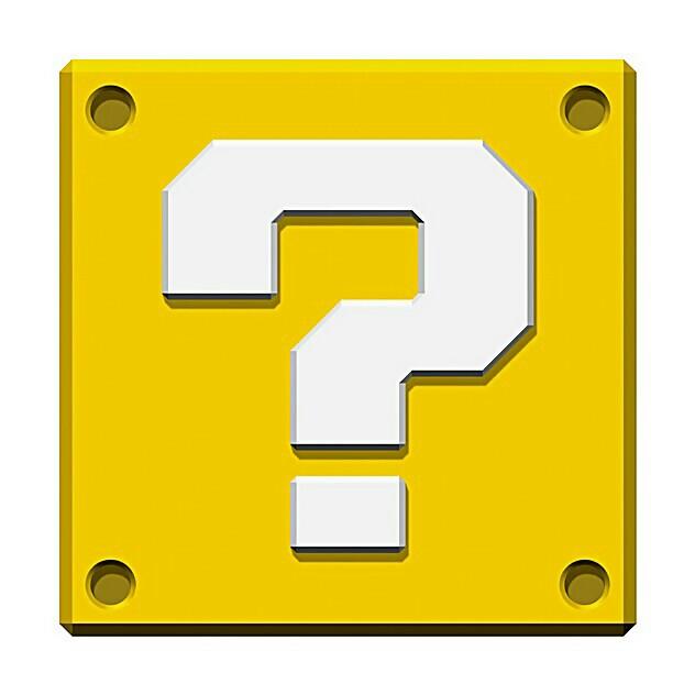 Mario clipart little Cricut  Mario Mario Block