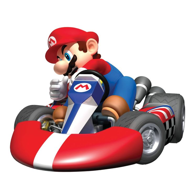 Mario clipart mario kart Images 35 Giant Decal Pinterest