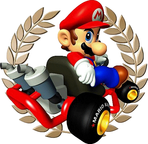Mario clipart mario kart Free Clipart Kart Art Clip