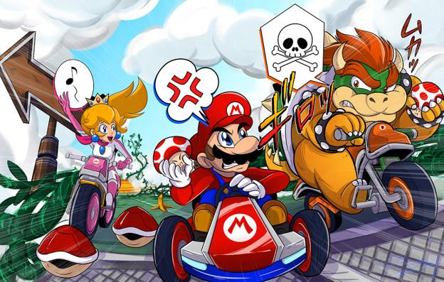 Mario clipart mario kart Kart Best Clip Images Art