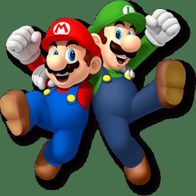 Mario clipart new super mario bro Bros PNG Luigi transparent Mario