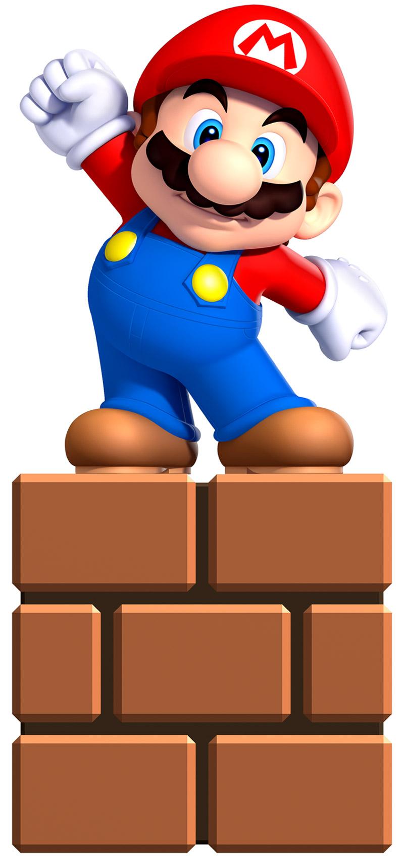 Mario clipart new super mario bro U Digital Clipart New imágenes