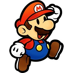 Mario clipart old Free Fire Mario Paper Clipart