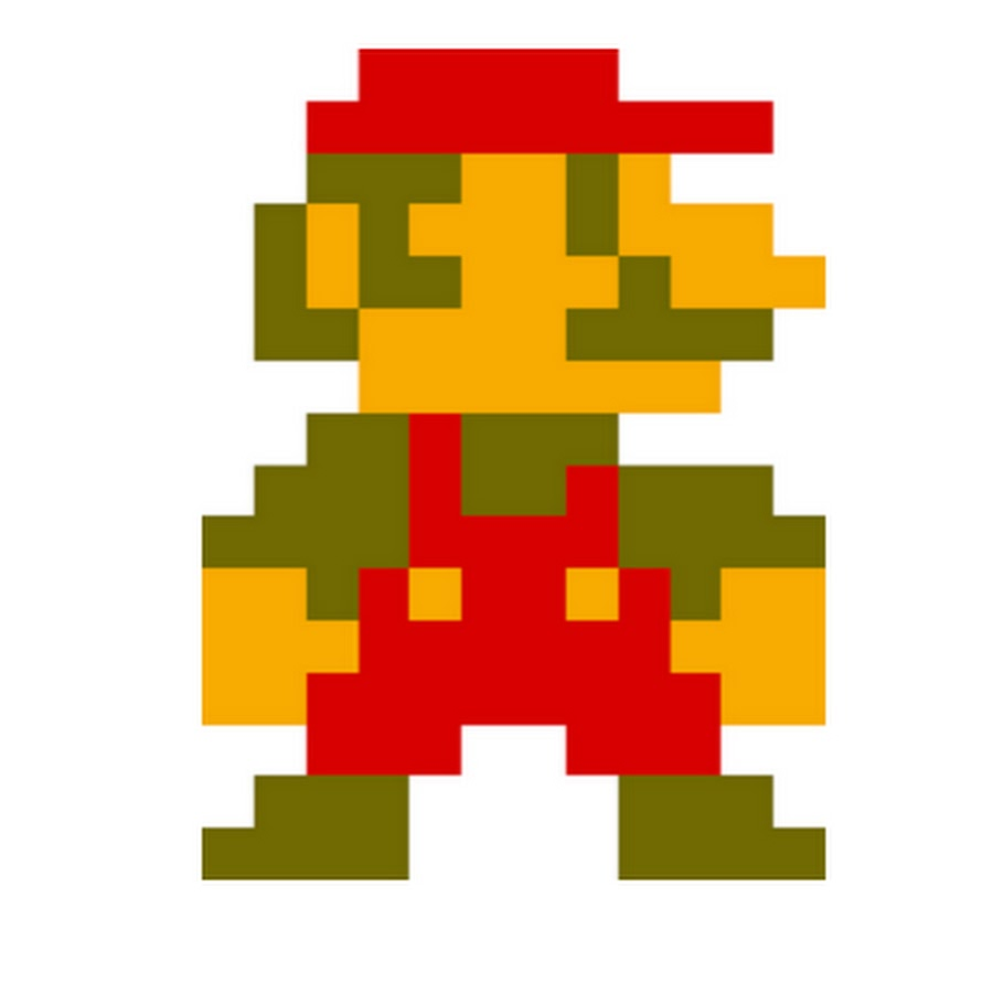 Mario clipart old 0978  YouTube
