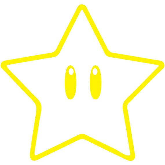 Mario clipart outline Laptopjuicydecals Super Super Mario Outline