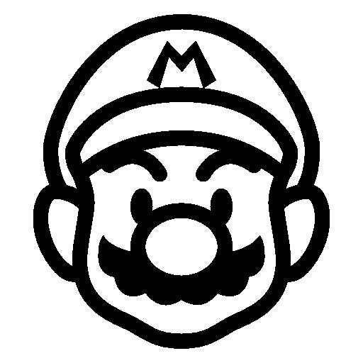 Mario clipart outline Download Super Icon Mario Icons8