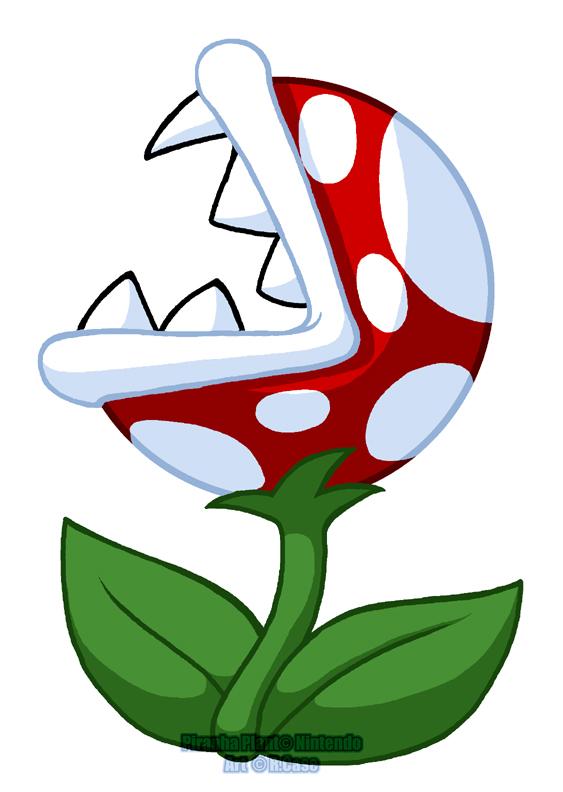 Mario clipart piranha plant  deviantART Plant on Quiet