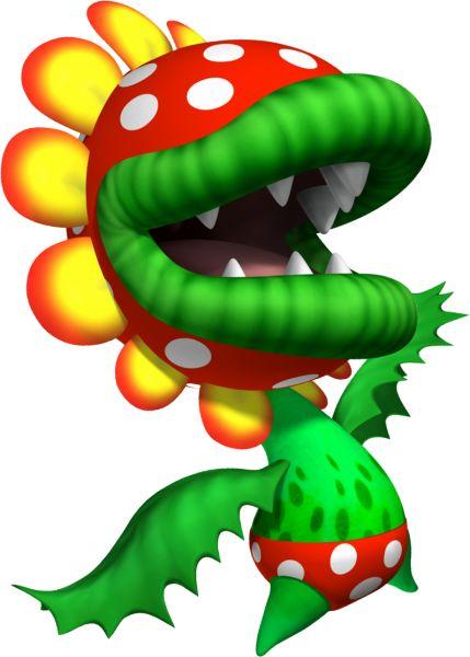 Mario clipart piranha plant On