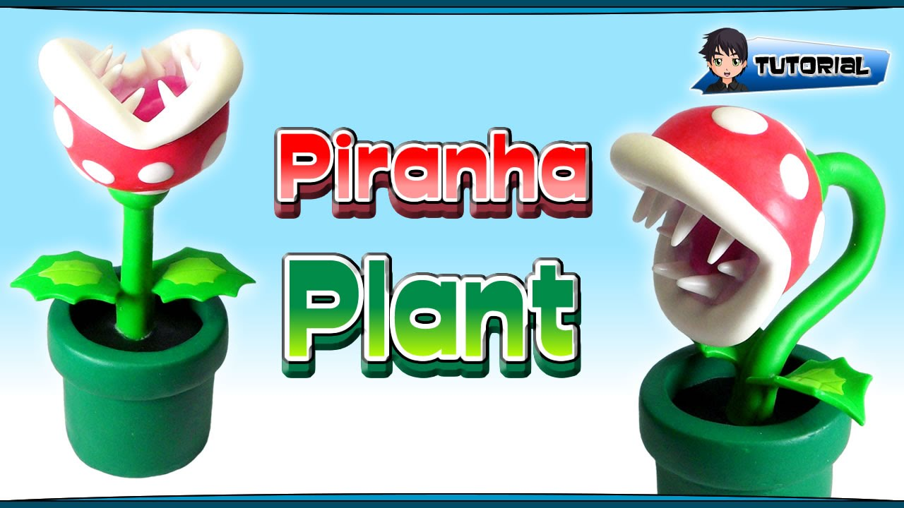 Mario clipart piranha plant TUTORIAL Plant Polymer TUTORIAL Plant