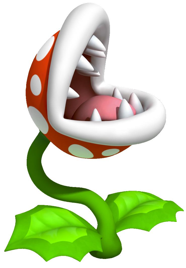 Mario clipart piranha plant Nintendo Plant by FANDOM Plant