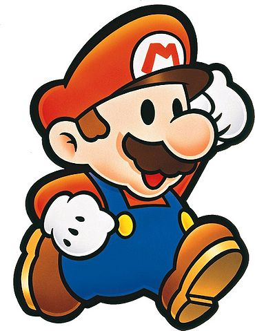 Mario clipart simple Paper Characters Mario: of Delicious