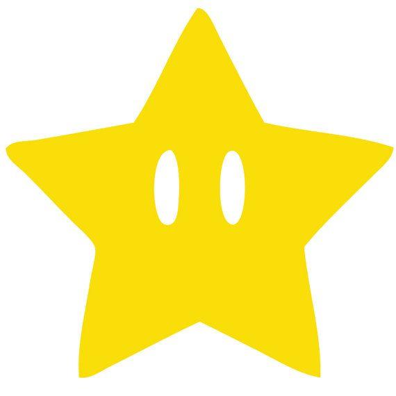 Mushroom clipart mario star Mario ideas 25+ Wall Decal