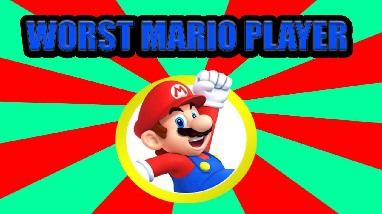 Mario clipart tube WORST  MARIO EVER!!!! YouTube