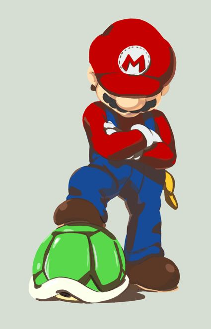 Mario clipart turtle shell Shiny ideas Turtle Best by