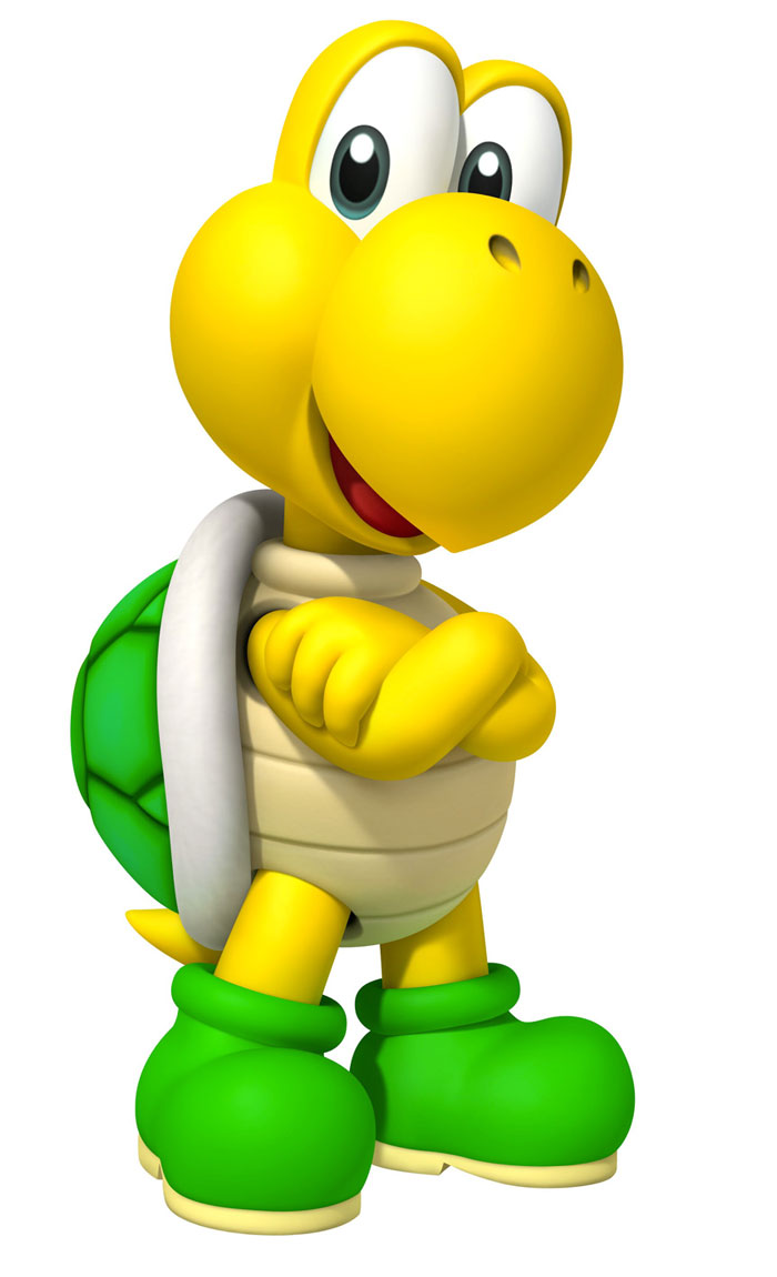 Mario clipart turtle shell Mario FANDOM Koopa on the