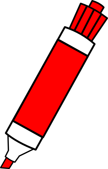 Marker clipart #15