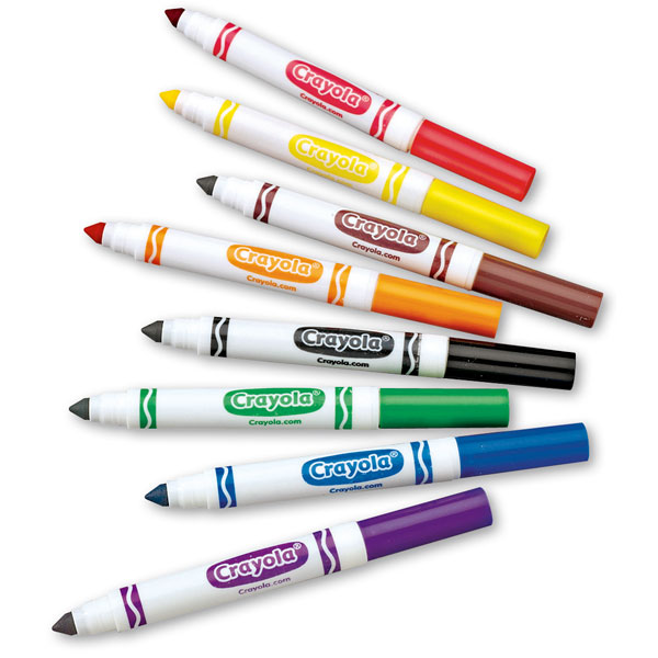 Marker clipart coloring (67+) with Markers coloring Clipart